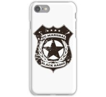 Wynonna Earp- Black Badge Division iPhone Case/Skin