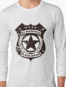 Wynonna Earp- Black Badge Division Long Sleeve T-Shirt