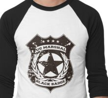 Wynonna Earp- Black Badge Division Men's Baseball ¾ T-Shirt