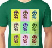Dachshund Galore Popart Unisex T-Shirt
