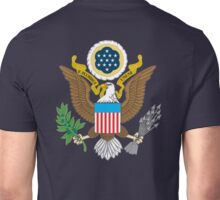 WAR, SEAL, American, Eagle, Patriot, Flag, America, Bald Eagle, USA, Bird of Prey Unisex T-Shirt