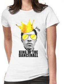 KOTD #FREEWORLBOSS - BLACK Womens Fitted T-Shirt
