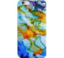 Inky Abstract iPhone Case/Skin