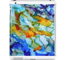 Inky Abstract iPad Case/Skin
