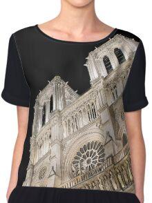 Notre Dame Chiffon Top