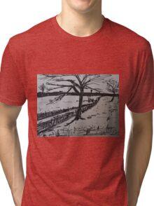 Uk Countryside  Tri-blend T-Shirt