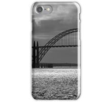 Yaquina Bay Bridge Black And White iPhone Case/Skin