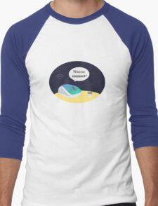 Wanna connect? Men's Baseball ¾ T-Shirt