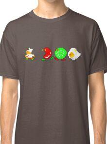 BurgerTime Retro Chase Graphic Classic T-Shirt