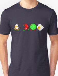 BurgerTime Retro Chase Graphic T-Shirt