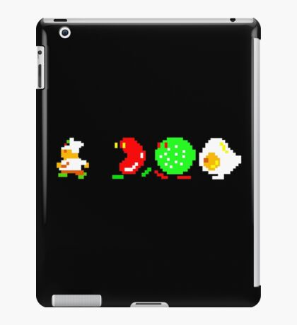 BurgerTime Retro Chase Graphic iPad Case/Skin