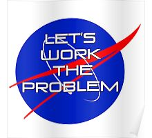 Let's Work the Problem Poster