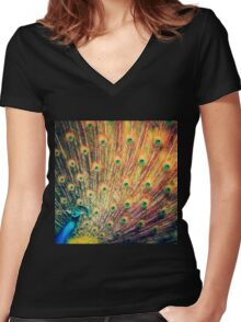 reSplendance Women's Fitted V-Neck T-Shirt