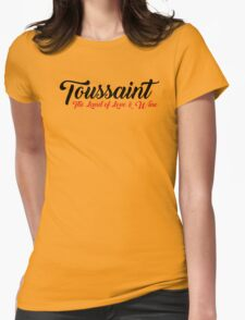 Toussaint, The Land of Love & Wine - The Witcher (Black)  Womens Fitted T-Shirt