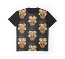 Rudolph Santa's Favorite Christmas Card Graphic T-Shirt