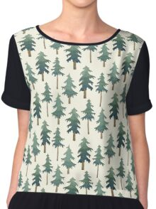 The forest Chiffon Top