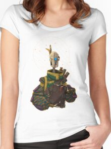 The Scholar Women's Fitted Scoop T-Shirt