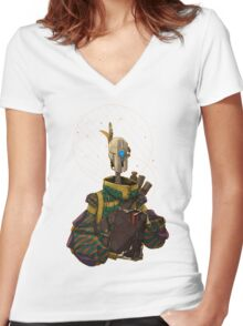 The Scholar Women's Fitted V-Neck T-Shirt