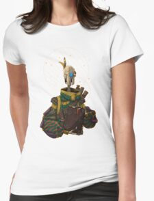 The Scholar Womens Fitted T-Shirt