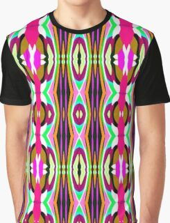 Patterned Body Paint Collection Entwined Entities Graphic T-Shirt
