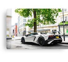 Lamborghini Aventador LP750-4 SV Roadster Canvas Print