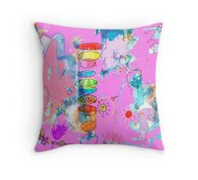 is this paradise? Throw Pillow
