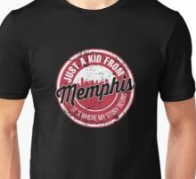 JUST A KID FROM MEMPHIS IT'S WHERE MY STORY BEGINS Unisex T-Shirt