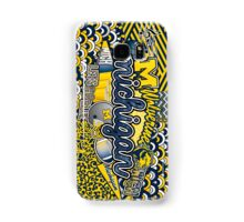 Michigan Collage Samsung Galaxy Case/Skin