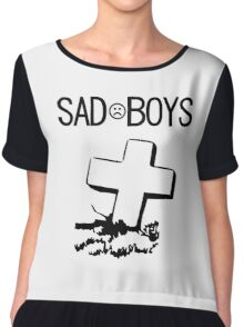 sadboys graveyard club vaporwave aesthetics Chiffon Top