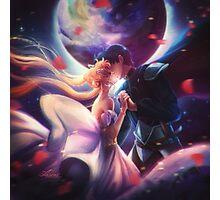 Moon kiss Photographic Print