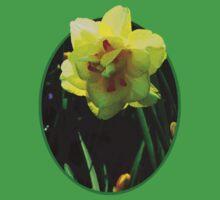 Yellow Double Daffodil Kids Tee