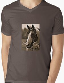 Horse 1  Mens V-Neck T-Shirt