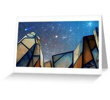 Wombi Sky Greeting Card
