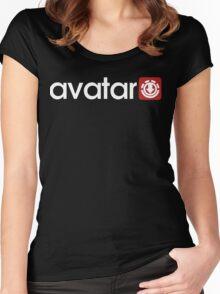 Avatar: Bending Wear Women's Fitted Scoop T-Shirt