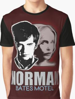 Norma-Norman Bates Motel Graphic T-Shirt
