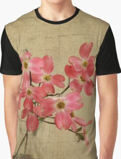 Pink Dogwoods Graphic T-Shirt