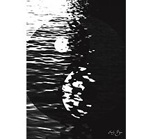 Yin Yang Darkness and Light Photographic Print