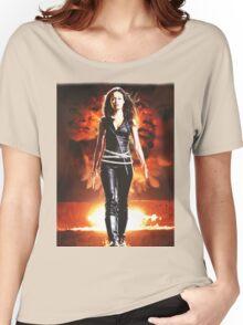Summer Glau - BADASS WOMEN Women's Relaxed Fit T-Shirt