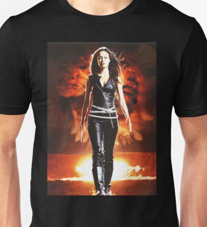 Summer Glau - BADASS WOMEN Unisex T-Shirt
