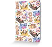 Sprinkles on Donuts and Whiskers on Kittens Greeting Card