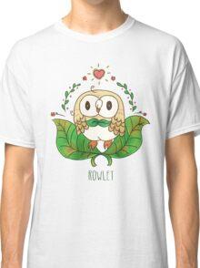 rowlet starter pokemon Classic T-Shirt
