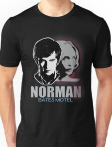 Norma-Norman Bates Motel Unisex T-Shirt