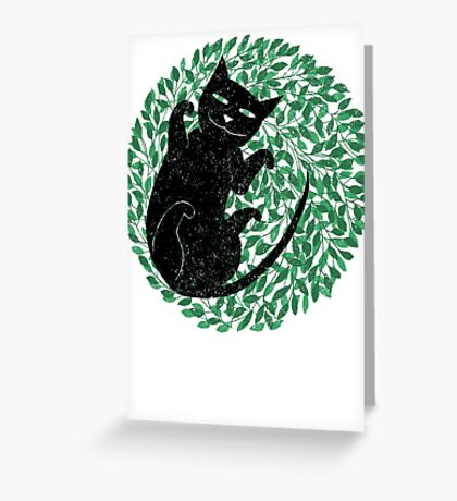 Summer cat Greeting Card