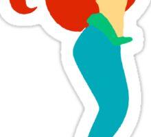 Tri Delta Mermaid Sticker