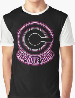 °DRAGON BALL Z° Capsule Corp Neon Graphic T-Shirt