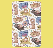 Sprinkles on Donuts and Whiskers on Kittens Kids Tee