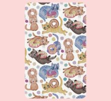 Sprinkles on Donuts and Whiskers on Kittens One Piece - Long Sleeve