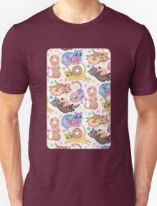 Sprinkles on Donuts and Whiskers on Kittens Unisex T-Shirt