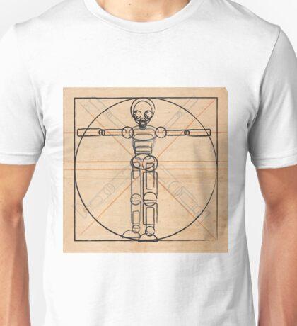 Vitruvian robot Unisex T-Shirt
