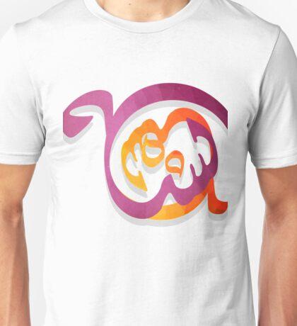 Arabic Calligraphy art abstract Unisex T-Shirt